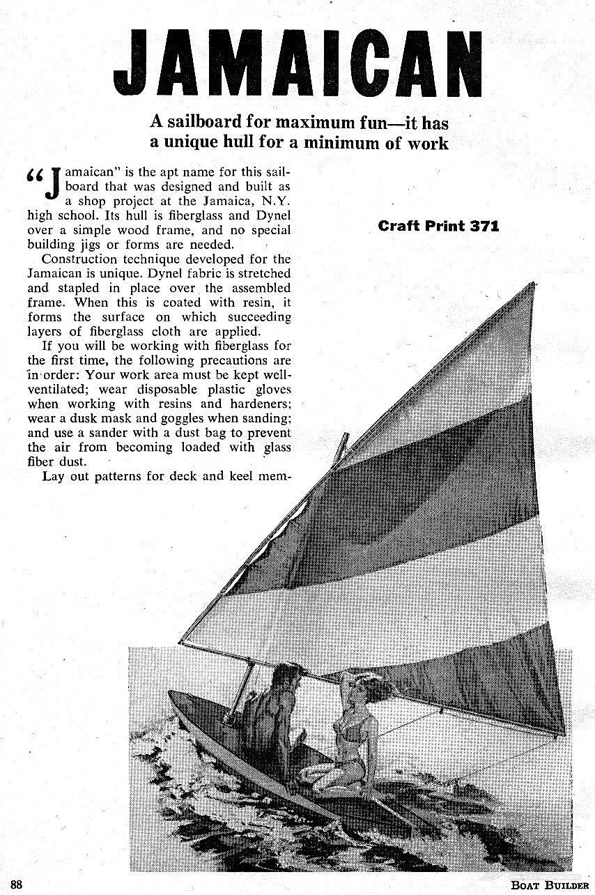 三張滑行planing dinghy