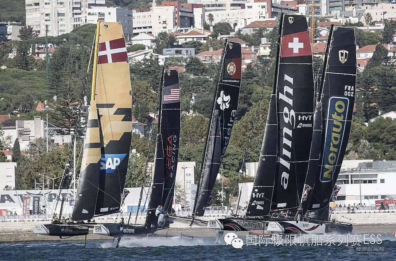 新闻发布会,葡萄牙,事故发生,系列赛,里斯本 惊险与刺激同在|国际极限帆船系列赛葡萄牙队意外碰撞船体破裂