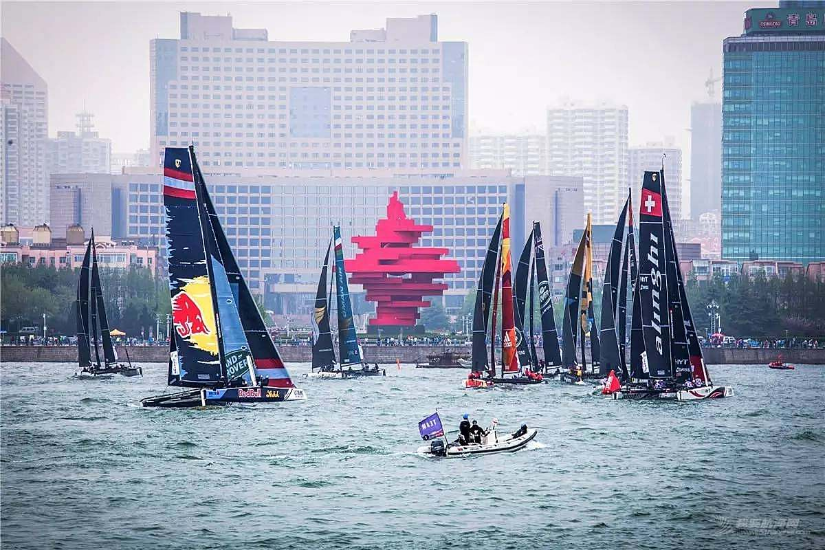 国际极限帆船系列赛2017赛季全新赛历出炉,青岛将再次上演极限帆船大片!
