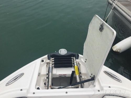 原装全进口喷泵艇23尺转让