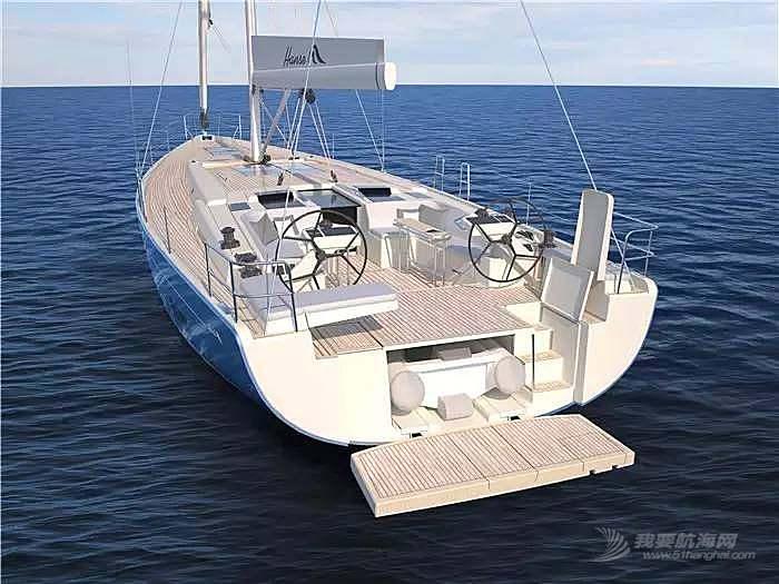 """碳纤维,日光浴,朋友,美食,潮流 """"打破常规,引领潮流""""德国汉斯帆船最新船型:Hanse 588"""