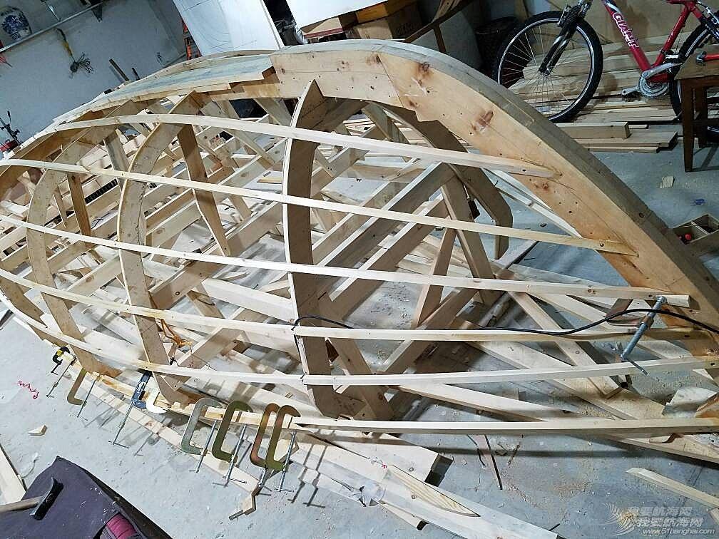 自己造19尺帆船之五