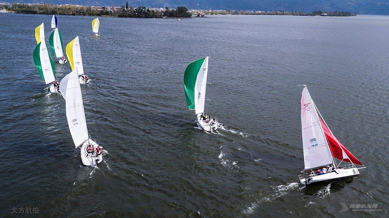 邛海帆船赛第三日:好风助力精彩纷呈