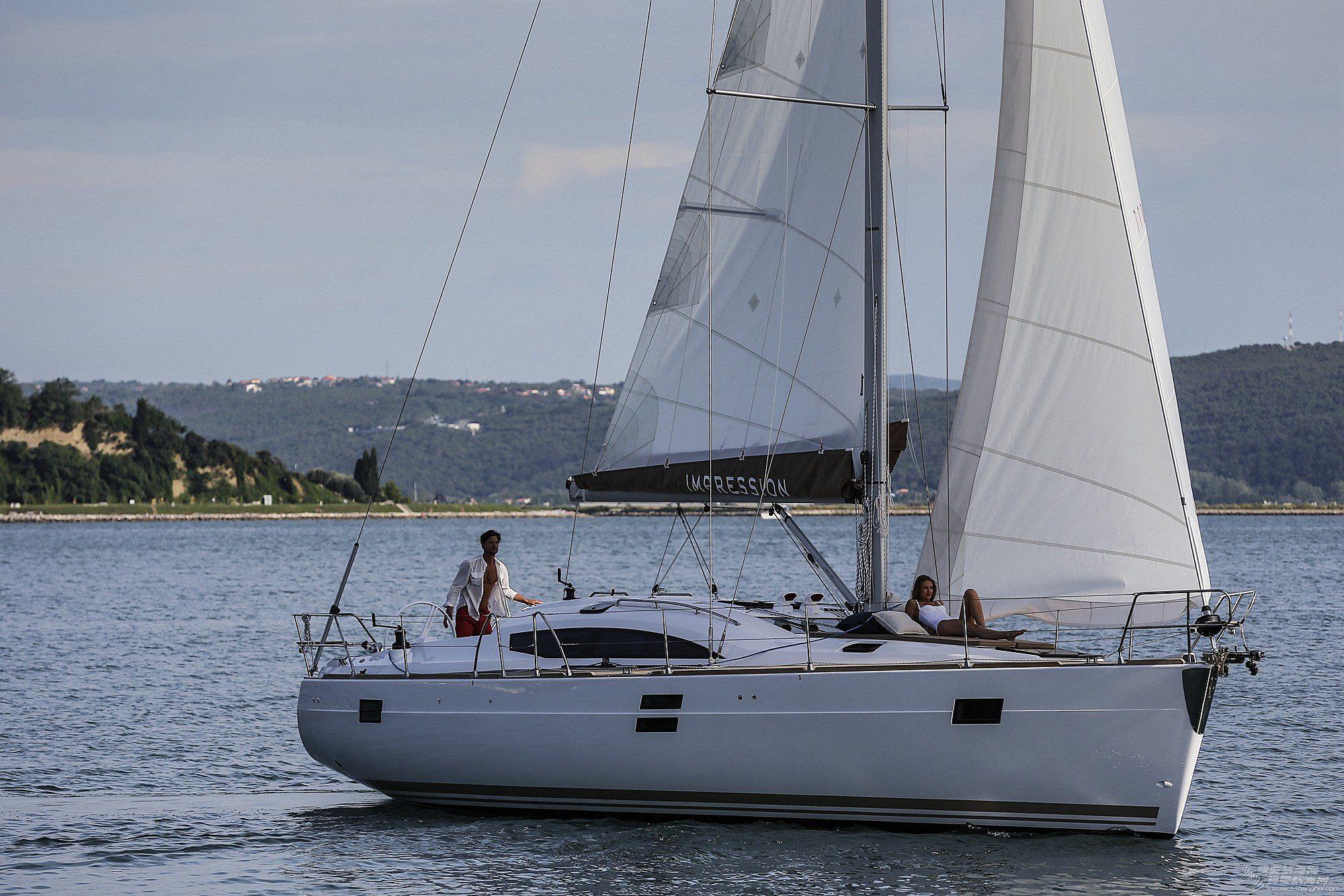帆船,休闲,印象 elan IMPRESSION 45豪华休闲帆船 逸蓝45英尺巡航帆船