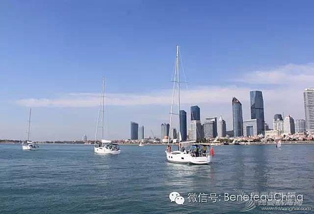 一路向南,中国船东海岸拉力赛驶离青岛站