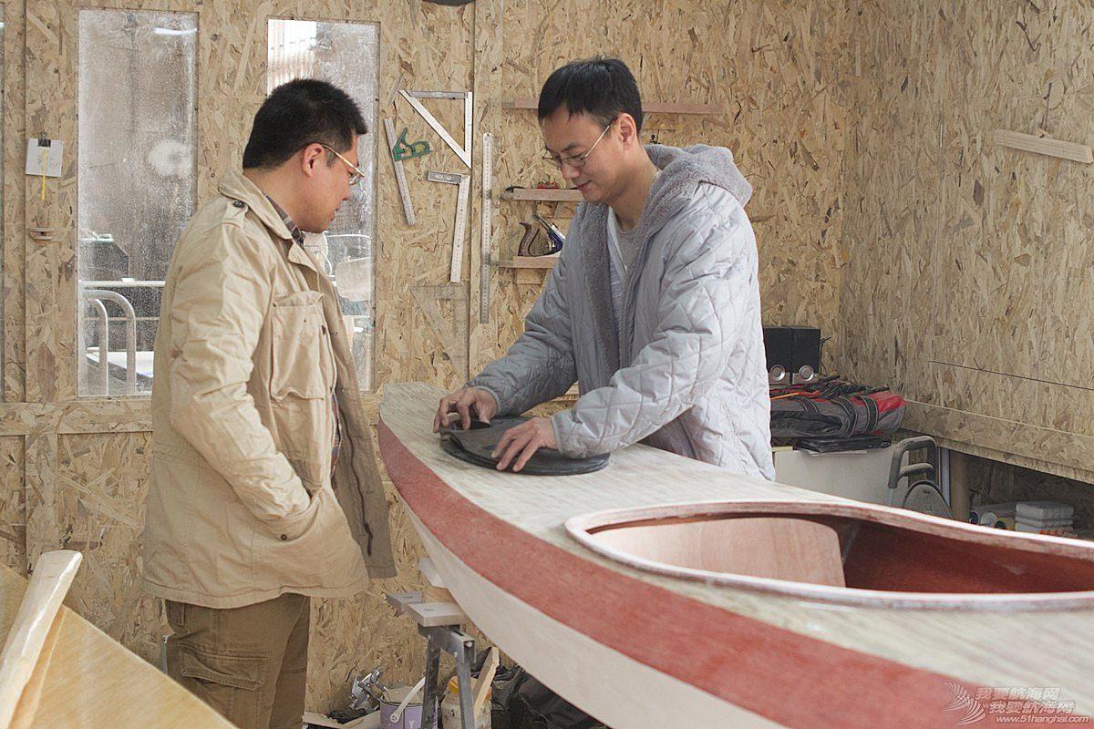 帆船,天津 【视频】TR68木质帆船在天津开工建造