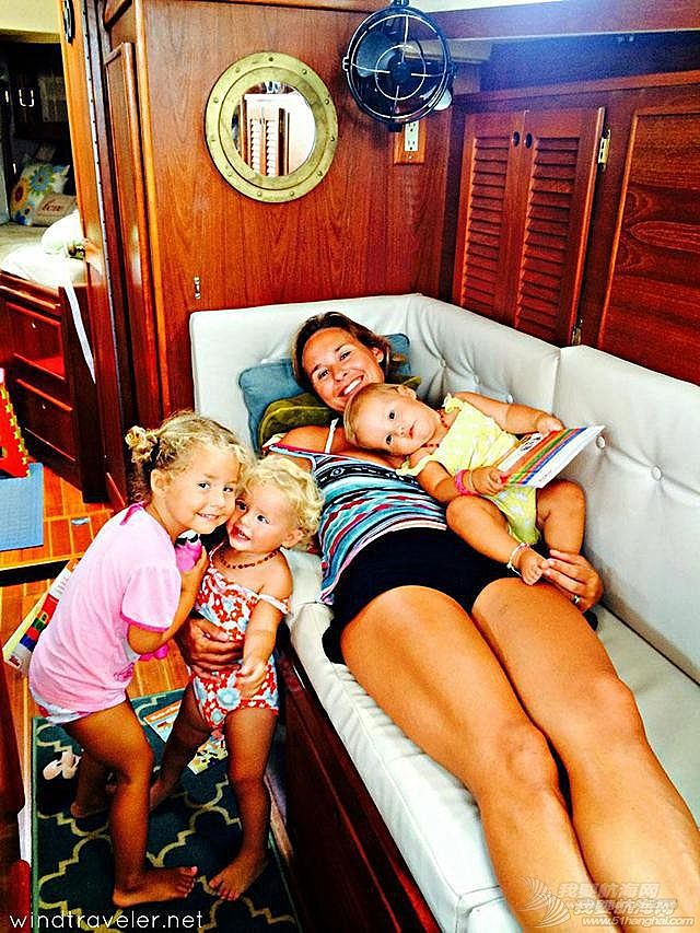 帆船,加勒比海,教育方式,东海岸,布列塔尼 世界上最炫酷的父母:让三个孩子在加勒比海的帆船上长大