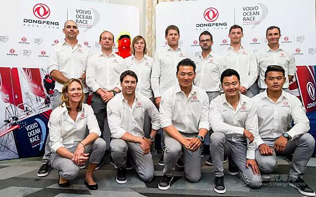 沃尔沃,巴黎 2017-2018沃尔沃环球帆船赛东风队12名船员亮相巴黎
