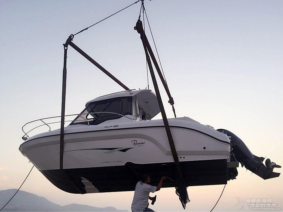 二手意大利进口22英尺游钓艇