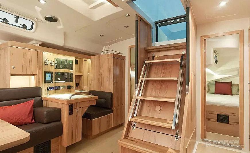 帆船 【HANSE帆船内饰】现代帆船的内部构造