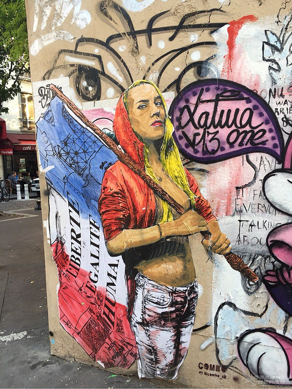 《海角孤舟》(19)巴黎公社中的涂鸦艺术