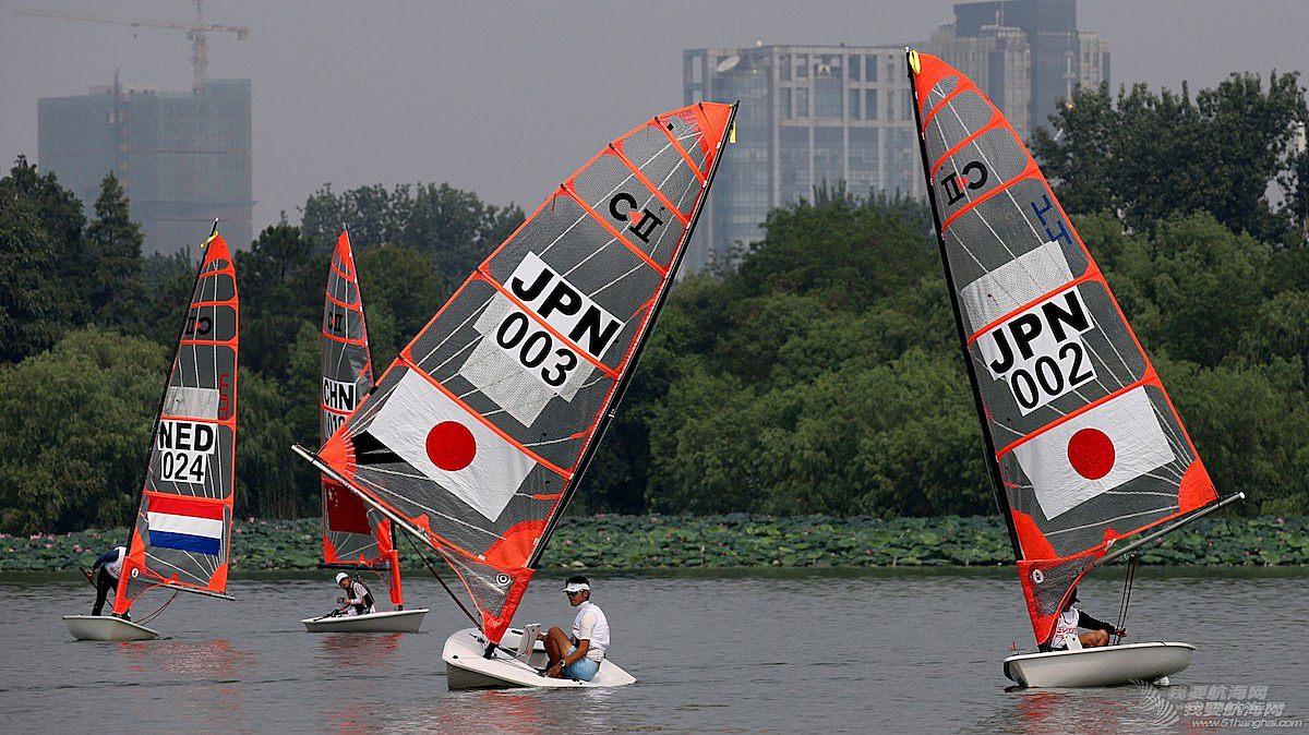 2017南京国际帆船赛首赛炫酷帆影精彩图集一