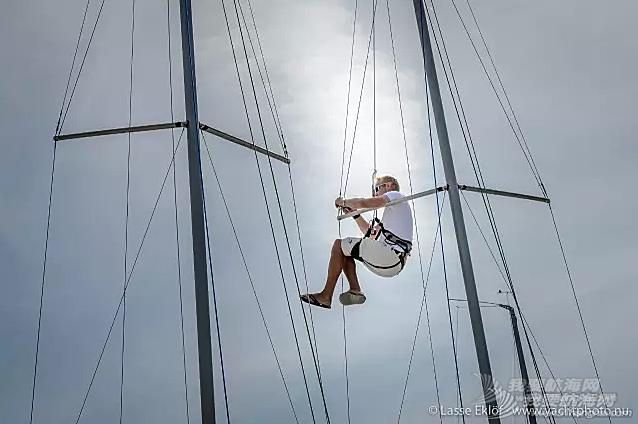 旗帜飘扬 全球百名帆友奔赴瑞典赛场
