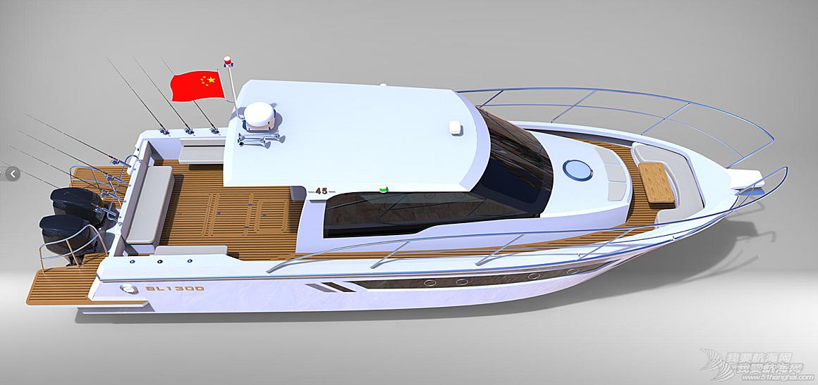 45尺高速专业钓鱼艇