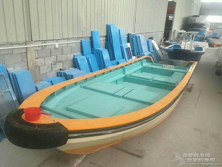 玻璃钢钓鱼艇捕鱼船电鱼船舷外机