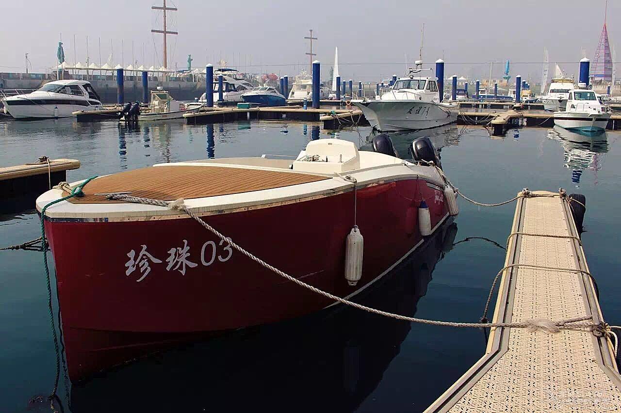 8.5米自用休闲艇转让