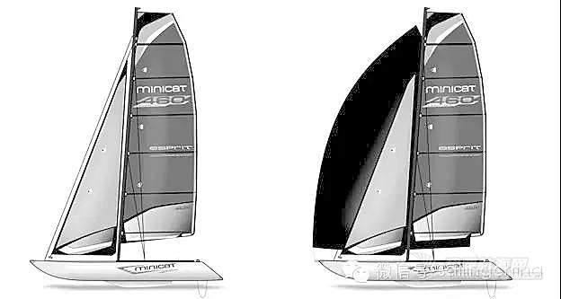 来自欧洲的MINICAT充气式双体帆船460系列