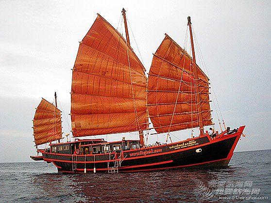 24m钢质三桅中国帆船