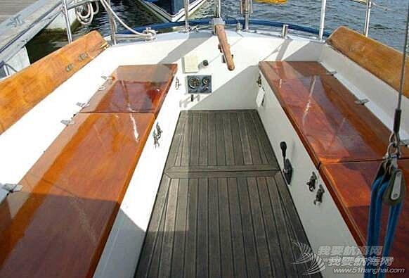 10万元出售荷兰 van de stad船厂 制造 31尺帆船艇wibo930