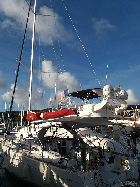 在加勒比海上学帆船