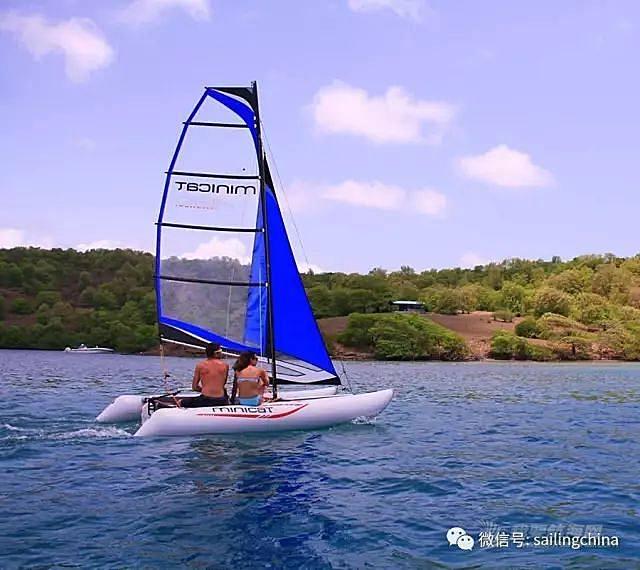 MINICAT充气式双体帆船各型号解析