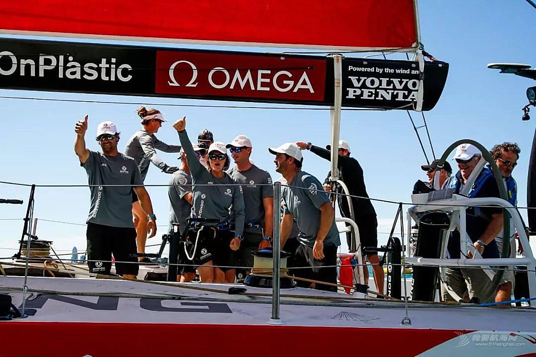 沃尔沃环球帆船赛东风队奥克兰港内赛夺冠