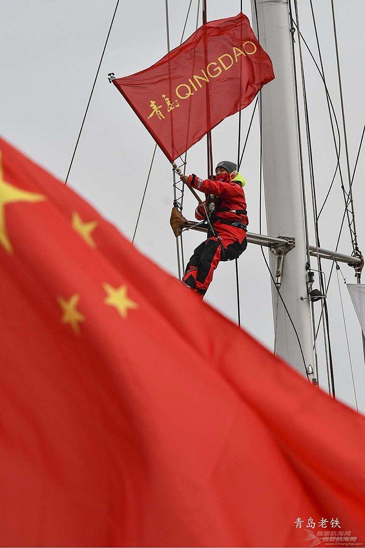 十一艘赛队闪亮登陆西海岸新区 青岛号荣归母港