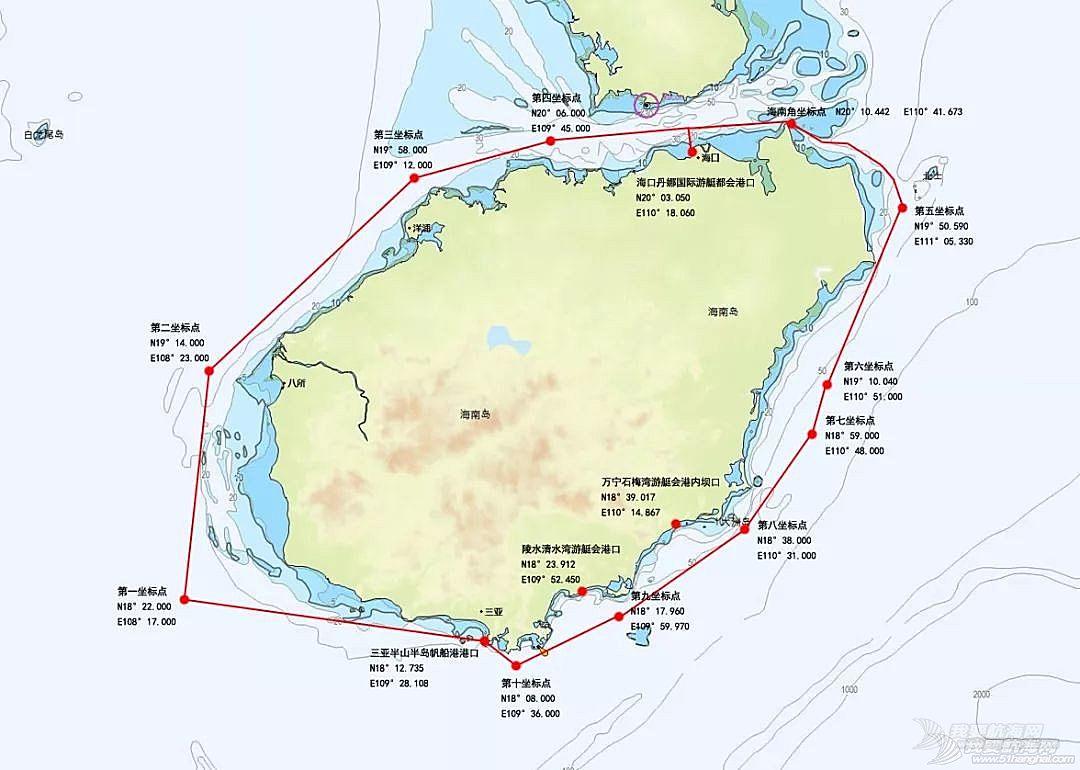 2018年第九届环海南岛国际帆船赛航行细则