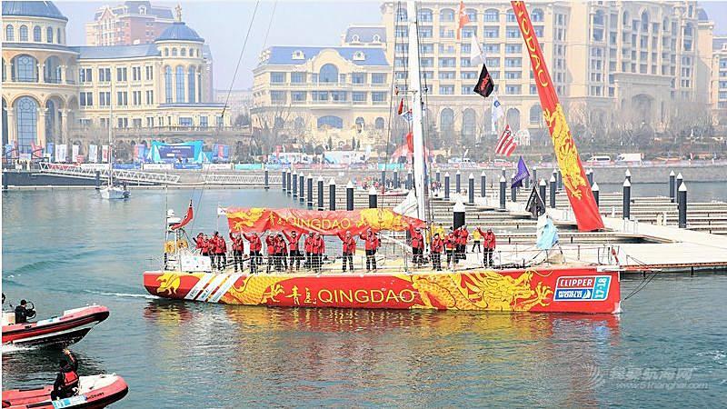 克利伯环球帆船赛11支船队今日青岛起航