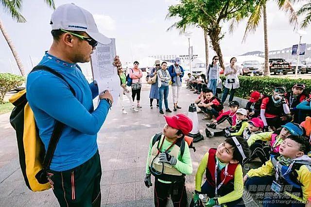 小水手亮相2018海帆赛,OP帆船全国邀请赛正式开赛