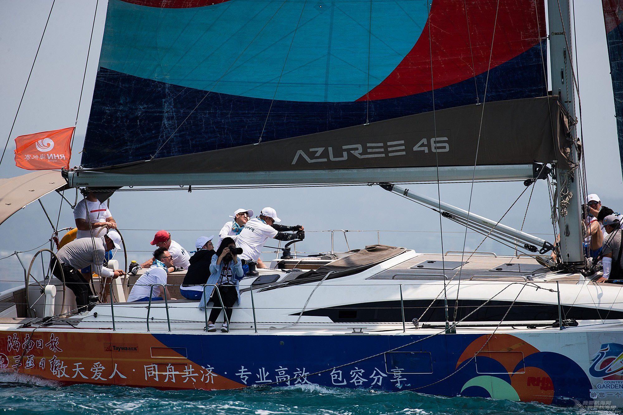 碧桂园杯2018第九届环海南岛国际大帆船赛三亚场地赛赛事图片1