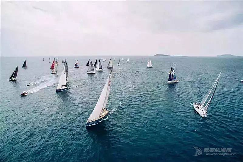 2018第九届环海南岛国际大帆船赛开赛