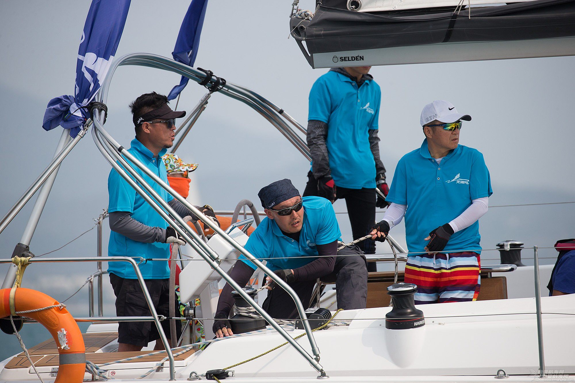 碧桂园杯2018第九届环海南岛国际大帆船赛IRC456组三亚场地赛赛事图片2