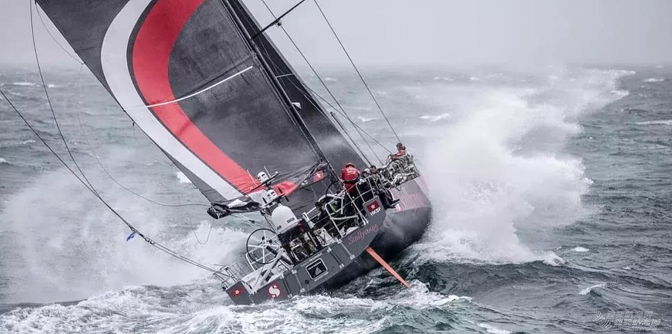沃尔沃帆船赛发生事故,新鸿基队有船员落水!