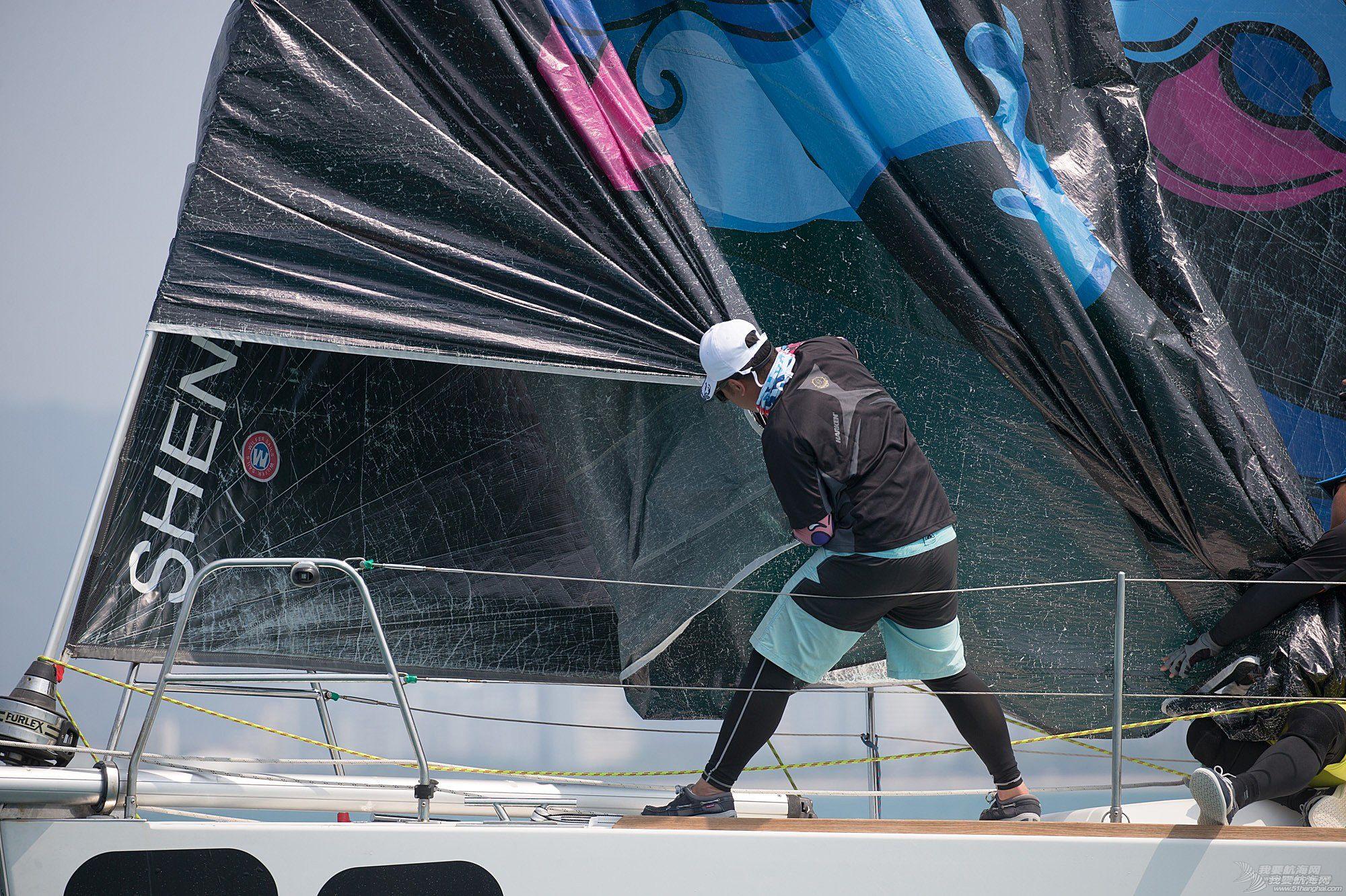 碧桂园杯2018第九届环海南岛国际大帆船赛IRC456组三亚场地赛27日赛事图片2