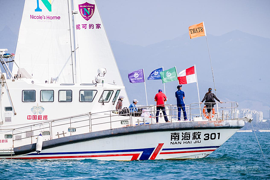 南海救助局快速反应,成功帮助西线拉力赛受困船只解围