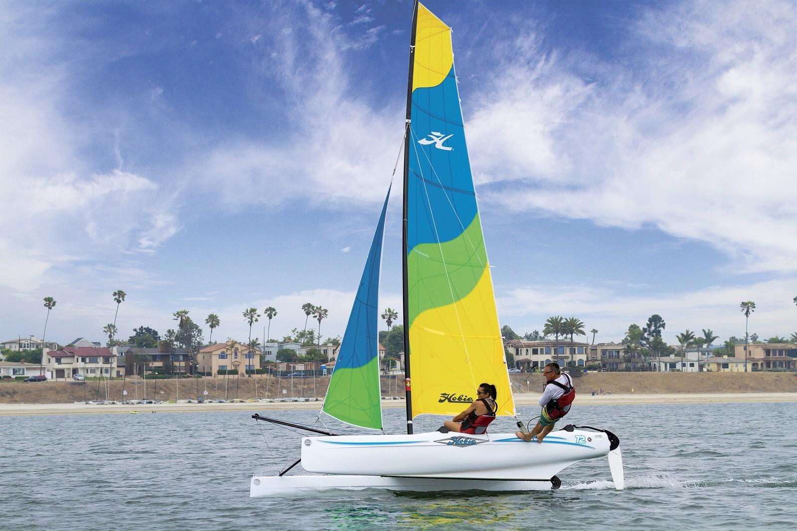 HOBIE T2 高性能滚塑帆船的标准船型 HOBIE T2