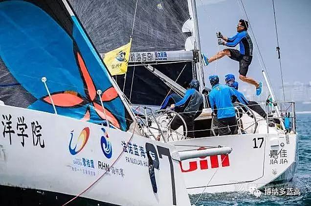 海帆赛 | 帆船新手首次亮相海帆赛,驾驶博纳多帆船乘风破浪