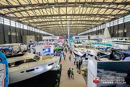 上海国际游艇展首日开门红售出20艘珐伊28R