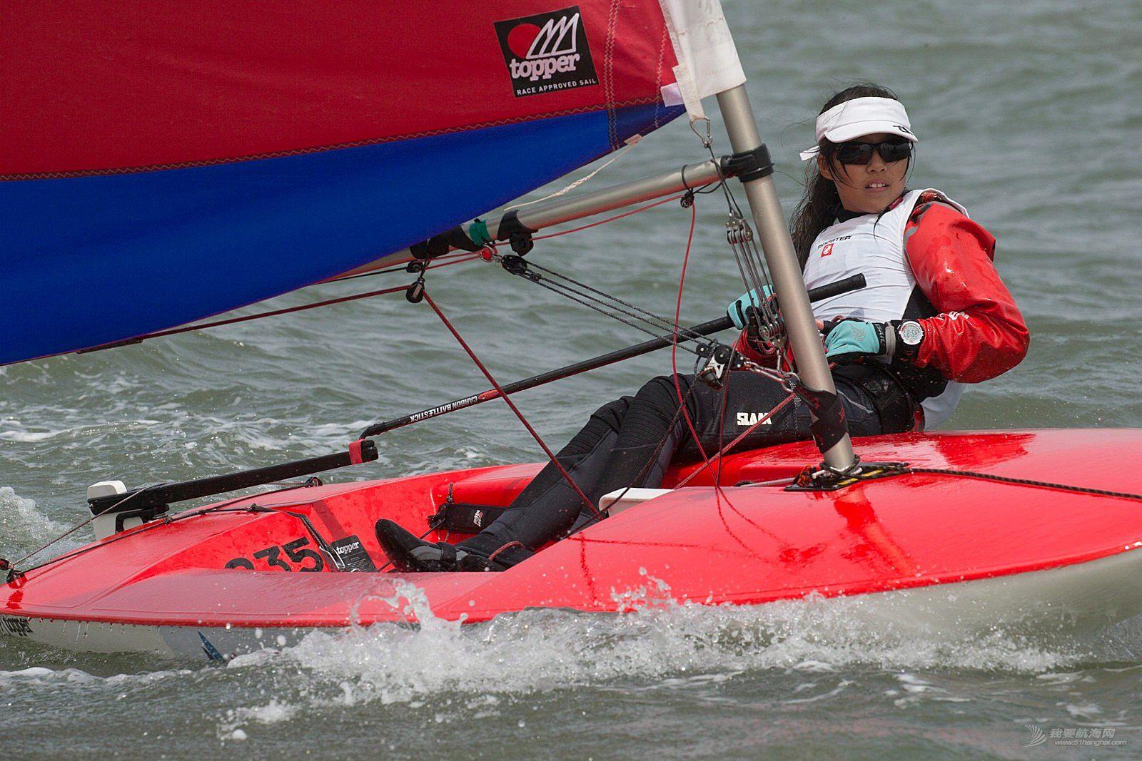 我的五一与帆船度过——暨2018年TOPPER世锦赛预选赛