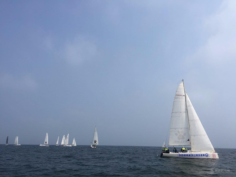 第一次国际帆船赛感受