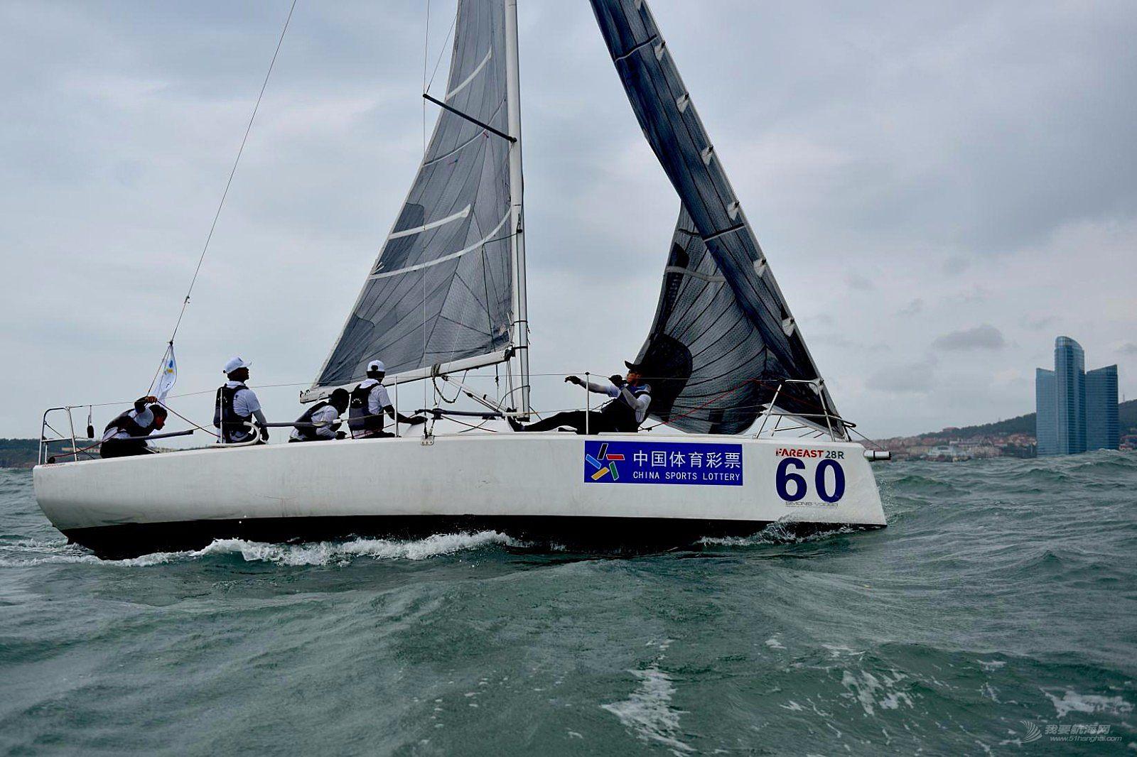 """2018""""中国体育彩票""""青岛国际帆船赛(二)"""