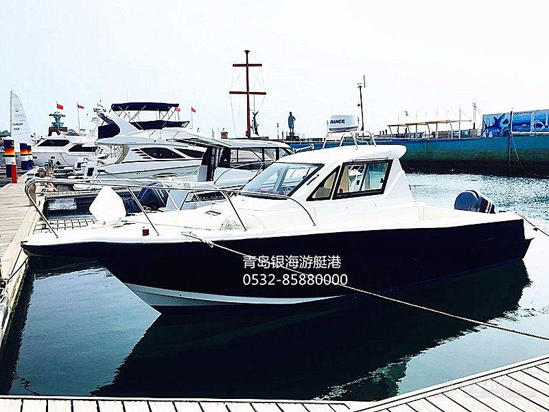 【二手船销售】小型休闲钓鱼艇低价销售现船超高性价比300000