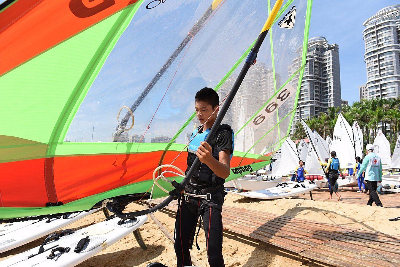2018广东省运动会帆船帆板比赛-2018-07-17运动员(二)