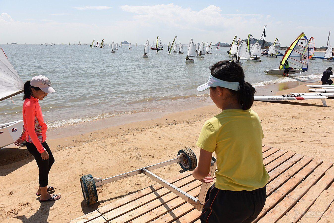 2018广东省运动会帆船帆板比赛-2018-07-17运动员(三)
