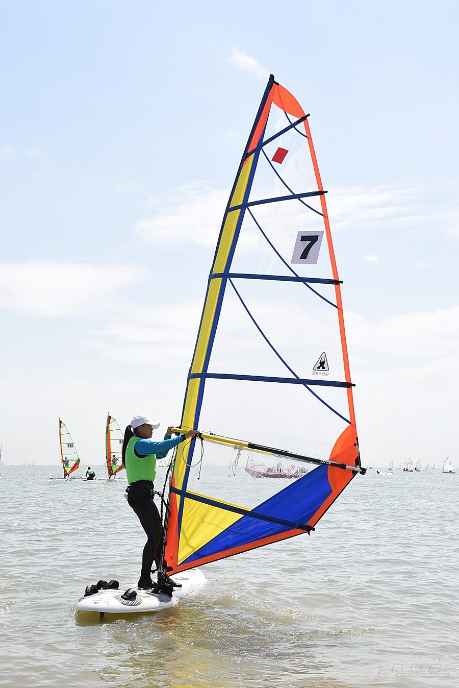 2018广东省运动会帆船帆板比赛-2018-07-17运动员(五)