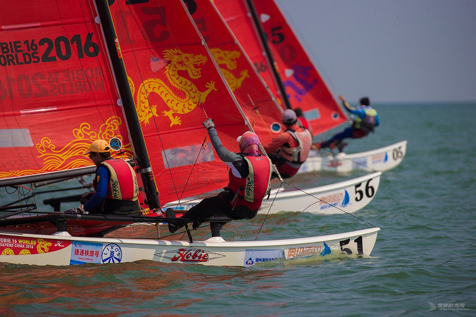 2018中国(锦州)HOBIE16帆船国际邀请赛-赛事图片集锦1