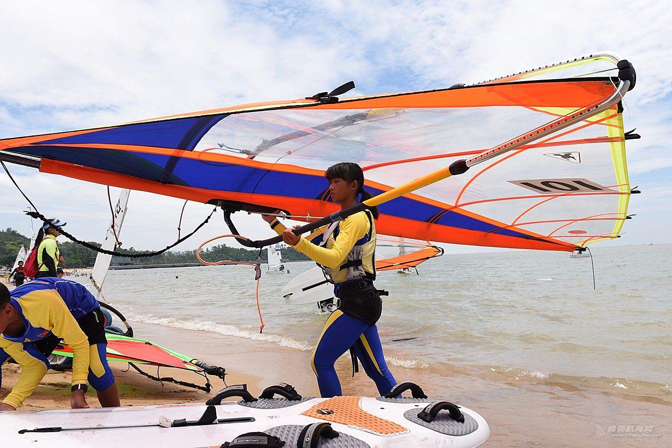 2018广东省运动会帆船帆板比赛-2018-07-17运动员(九)