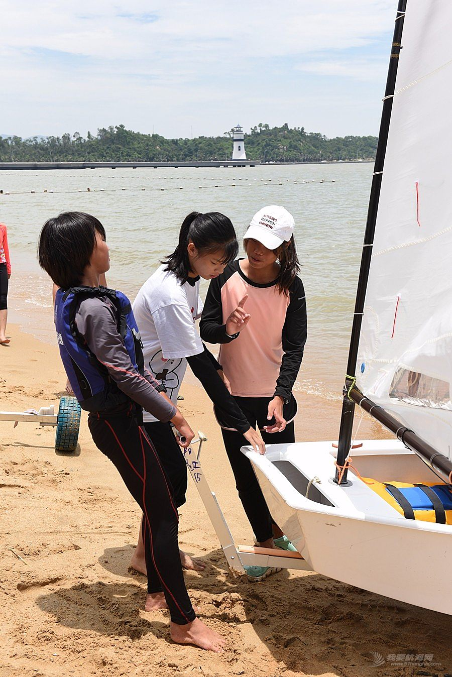 2018广东省运动会帆船帆板比赛-2018-07-17运动员(十一)
