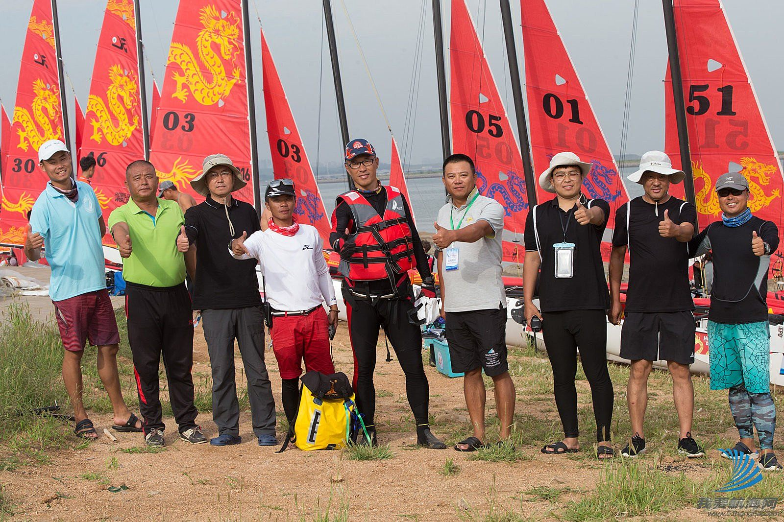 2018中国(锦州)首届锦州港杯HOBIE16帆船国际邀请赛完美落幕